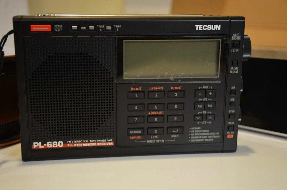 德生PL680收音机曝光
